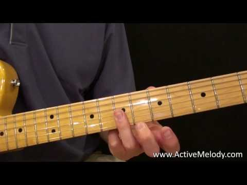 learn blues guitar - Visit http://www.activemelody.com for the tablature and MP3 jam track for this video. Every few days I'm adding a new guitar lesson video so be sure to check...