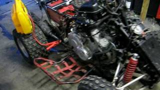 8. Yamaha Warrior 600 crotch rocket quad