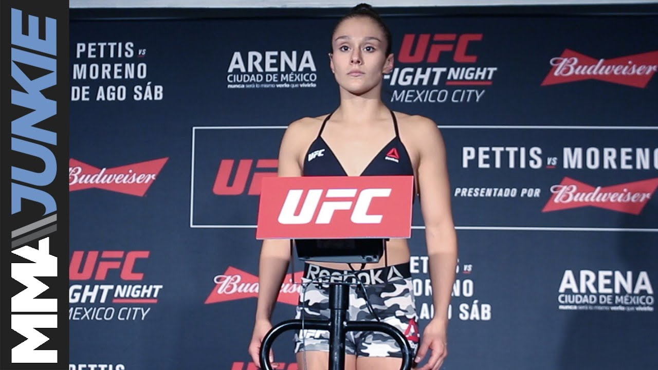 Alexa Grasso misses weight ahead of Randa Markos fight at #UFCMexico
