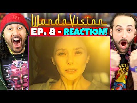 WANDAVISION EPISODE 8 REACTION!! (1x8 Breakdown | Spoiler Review | Ending & Post-Credits Explained)