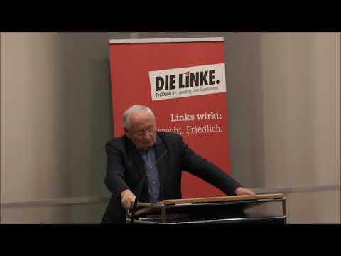 Oskar Lafontaine zu linker Sammlungsbewegung bei Neujah ...