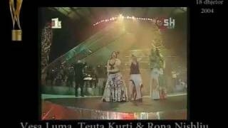Vesa Luma, Teuta Kurti&Rona Nishliu - Flakareshë [Festivali I Këngës 43 Ne RTSH]