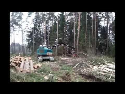 Harvester Forstbetrieb Haneder; WFW, Neuson 242 HVT, Forst Bayern