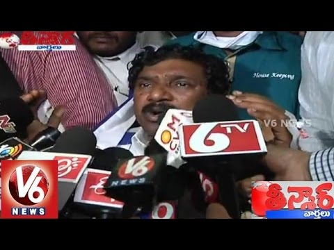 Former Telangana Deputy Chief Minister sustains heart attack  Teenmaar News 28012015