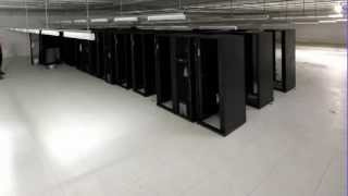Construction of the NCI supercomputer - timelapse video