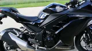 5. SALE $4,299:  2014 Kawasaki Ninja 300 ABS in Black   Overview and Review
