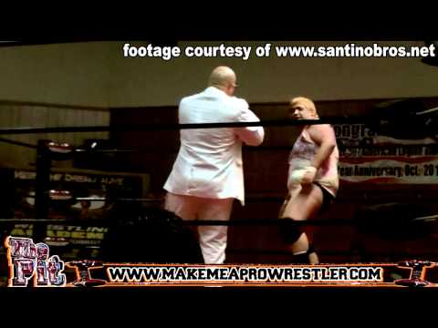 Brother Love Money's Wardrobe Malfunction at Wrestling Show : Full Frontal : Censored