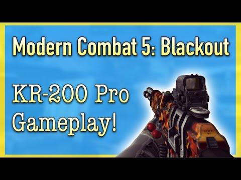 KR-200 Pro Gameplay! | Modern Combat 5: Blackout (17)
