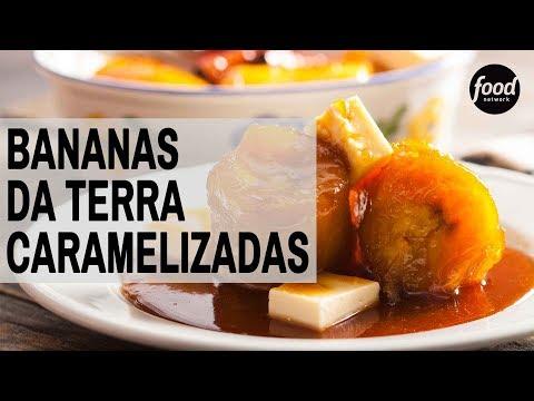 BANANAS DA TERRA CARAMELIZADAS | COZINHA FOOD NETWORK