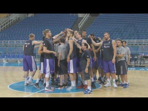 Hμέρα παρουσίασης της εθνικής ομάδας μπάσκετ