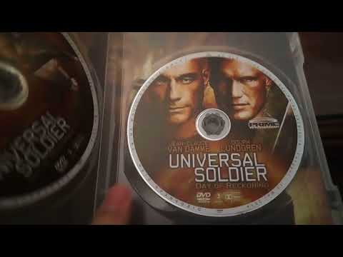 Universal Soldier: Day of Reckoning DVD Unboxing