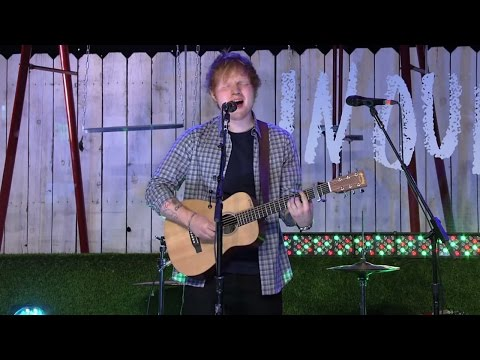 The Fault In Our Stars I Ed Sheeran -- All Of The Stars -- Live at The Fault In Our Stars Event