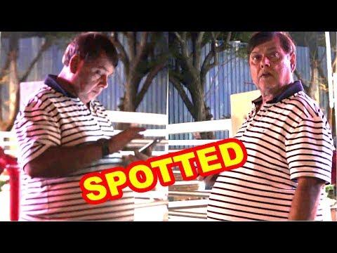 David Dhawan Spotted At Juhu PVR