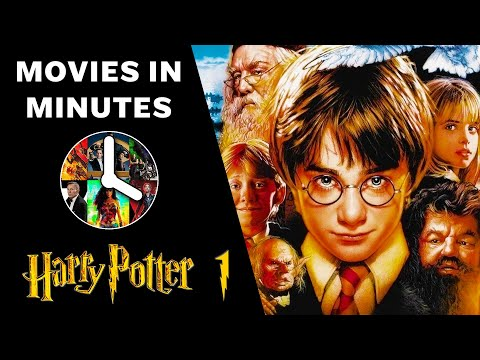 HARRY POTTER AND THE PHILOSOPHER'S STONE in 3 minutes (Movie Recap)
