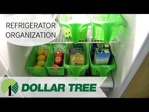 DOLLARTREE FRIDGE ORGANIZATION | ORGANIZE WITH ME