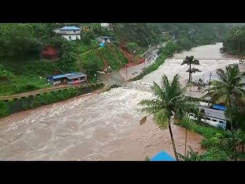 India: At Least 80 Killed By Floods In Kerala