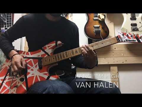 Van Halen - Hang 39Em High guitar cover