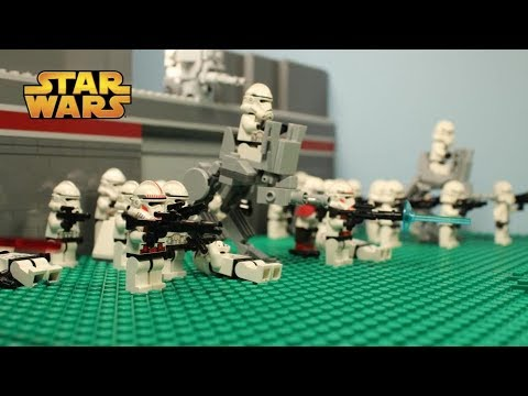 LEGO Cyclops - Star Wars The Clone Wars - Stopmotion