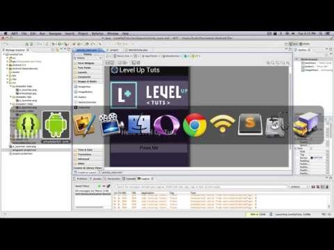 Android Development Tutorials #10 - Adding Background Color and Changing Layout Text with XML