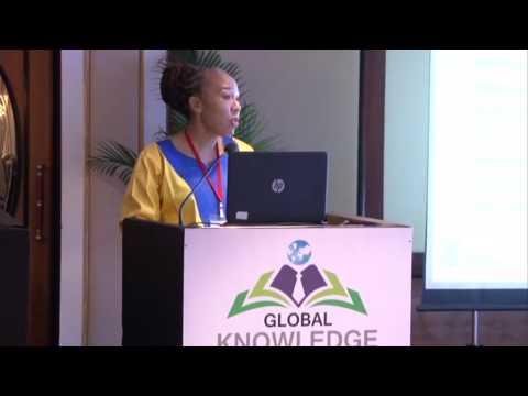 Global Knowledge Management Congress & Awards 2016 - DR. DAISY SELEMATSELA