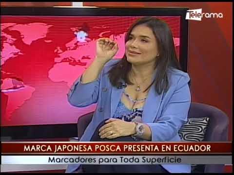 Marca Japonesa Posca presenta en Ecuador marcadores para toda superficie