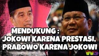 Video Analisa Politik : Mendukung Jokowi Karena Prestasi, Mendukung Prabowo Karena Jokowi MP3, 3GP, MP4, WEBM, AVI, FLV Maret 2019