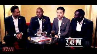 Cannes Festival 2014 — HOLLYWOOD REPORTER interviews Akon, Dr David Luu, Jimmy Jean-Louis, Gary Dour