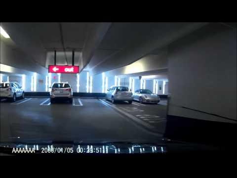 Stop signs still apply in parking garages