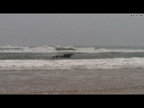Mom - A mother drives her minivan straight into the ocean with her three kids in the back. Witnesses frantically chased after the car and managed to rescue the kid...
