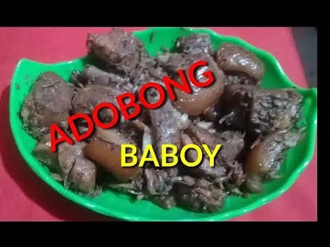HOW TO COOK ADOBO/FILIPINO FOOD