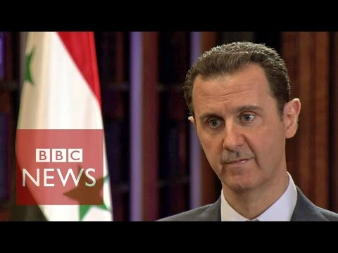 Video Syria conflict: BBC exclusive interview with President Bashar al-Assad (FULL) download in MP3, 3GP, MP4, WEBM, AVI, FLV January 2017