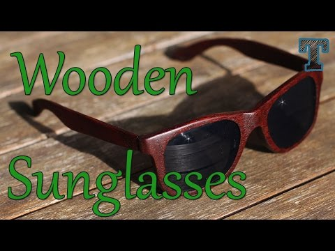 woodworking - How to make some really cool wooden sunglasses. Requested by a viewer, these homemade sunglasses are the perfect summer woodworking project. What better way to show off to everyone that you...