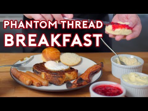 Binging with Babish: Breakfast from The Phantom Thread - Thời lượng: 5 phút, 53 giây.
