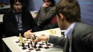Tata Steel Chess 2012 - Analysis - Radjabov - Carlsen round 8