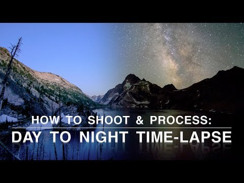 How to Shoot and Process a Day to Night Time-lapse | Astrophotography Tips