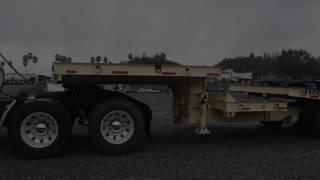 2. 2002 Zieman Tilt Deck Trailer / Charter Trucks - u10480