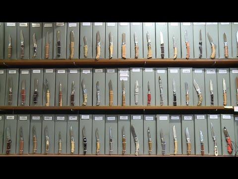 """Couteau de poche """"Le Thiers""""manche en corne blonde 11 cm avec TB , acier 12 C 27"""
