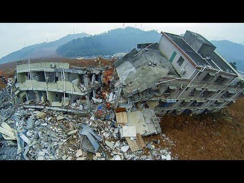 Κίνα: Εντοπίστηκε η σωρός ενός άνδρα στα ερείπια των κτιρίων που κατέρρευσαν