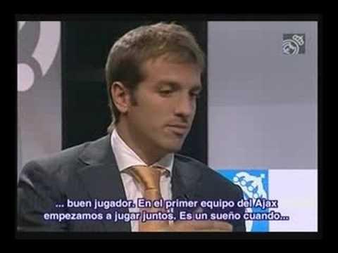 Primera Entrevista de Van Der Vaart con el Real Madrid