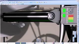 flying bike: CATIA V6