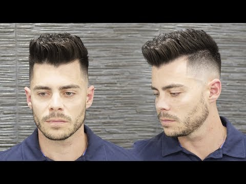 Mens hairstyles - Men's Summer Hairstyle 2018  Texture Hair