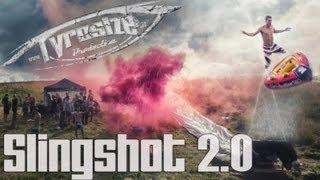 Human Slingshot Party Slip ´n Slide 2.0 - Tomorrowland Style