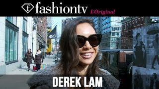 Derek Lam Fall/Winter 2014-15 Arrivals | New York Fashion Week NYFW | FashionTV