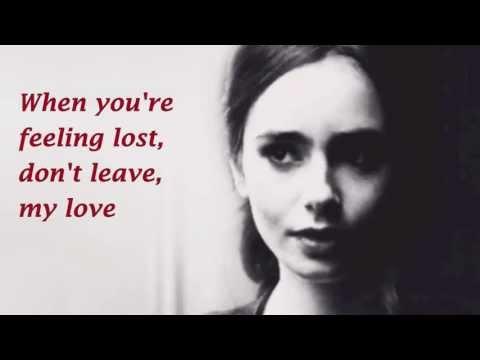 Tekst piosenki Lily Collins - When The Darkness Comes po polsku