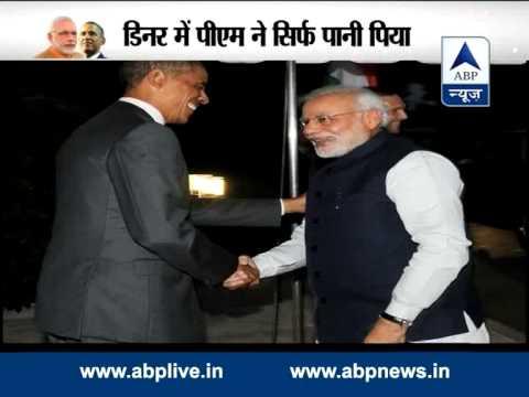 Khem Cho Mr. PM! Obama welcomes Modi at the White House 30 September 2014 08 PM