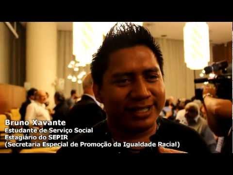 Bruno Xavante - Ato em solidariedade a Dom Pedro Casaldáliga e ao povo Xavante