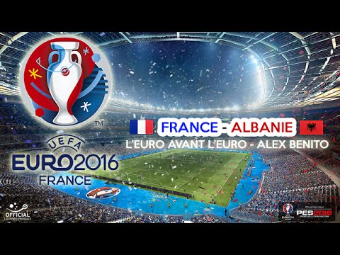Euro 2016 | FRANCE-ALBANIE | Groupes | PES2016 | PS4