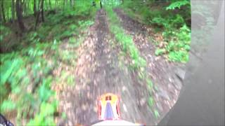 7. Wine Bottle (KTM 350, Beta 450rs, and KTM 350 exc) Vermont Trail Ride...