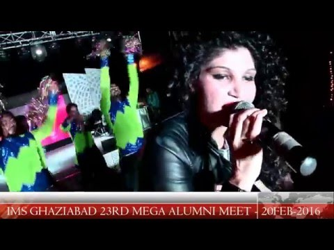 Video Celebrity Performance by Purva Mantri during Mega Alumni Meet 2016 at IMS Ghaziabad download in MP3, 3GP, MP4, WEBM, AVI, FLV January 2017