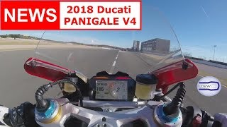 4. 2018 Ducati PANIGALE V4 / Top Speed, Acceleration, V4 engine, Brutal Sound, Akrapovic, Termignoni